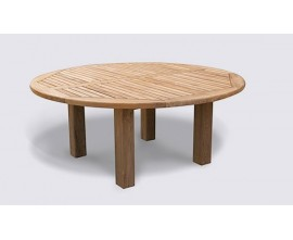 Chunky Garden Tables | Hardwood Garden Tables | Titan Tables