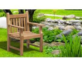 Wooden Armchairs | Teak Garden Armchairs | Outdoor Chairs with Arms