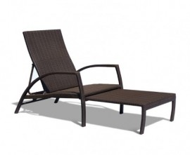 Rattan Sun Loungers | Wicker Sun Loungers | Rattan Deck Chairs