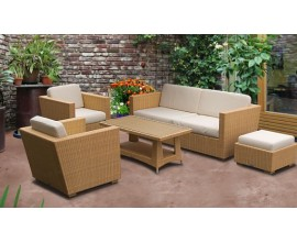 Rattan Sofa Sets | All Weather Wicker Sofa Sets | Seagrass Sofa Sets