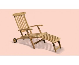 Reclining Sun Lounger | Multi-Position Sun Lounger | Teak Recliner