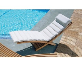 Padded Sun Loungers|Sun Loungers with Cushions|Cushioned Sun Loungers