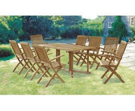 8 Seater Garden Table & Chairs | 8 Seat Garden Furniture | Dining Set