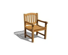 Wooden Outdoor Chairs | Garden Patio Chairs | Teak Garden Chairs