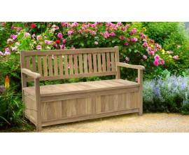 Garden Storage Benches | Outdoor Storage Benches