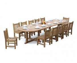 12 Seater Garden Table & Chairs |12 Seat Dining Set |12 Seat Patio Set
