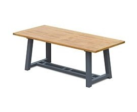 Teak and Metal Outdoor Tables | Outdoor Metal and Wood Tables