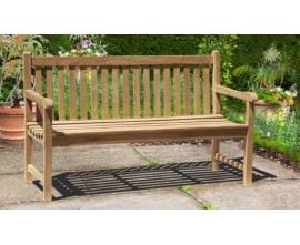 3 Seater Garden Benches | Solid Wood Benches | Outdoor Patio Benches