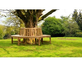 Teak Tree Seats | Tree Benches | Circular Tree Seats | Round Benches