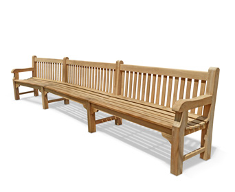 Bespoke size bench garden furniture specify design measurements