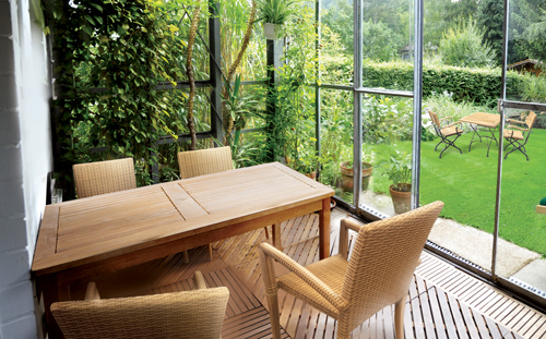 Indoor Teak Furniture Conservatory