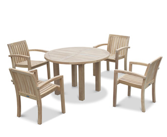 Teak Chairs Match Table Garden Furniture