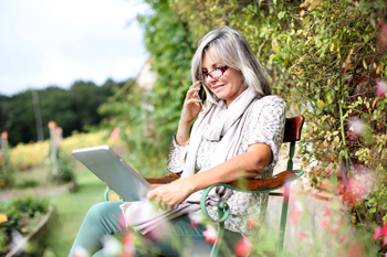 delivery status alerts garden furniture phone ordering