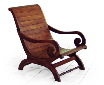 stained teak furniture
