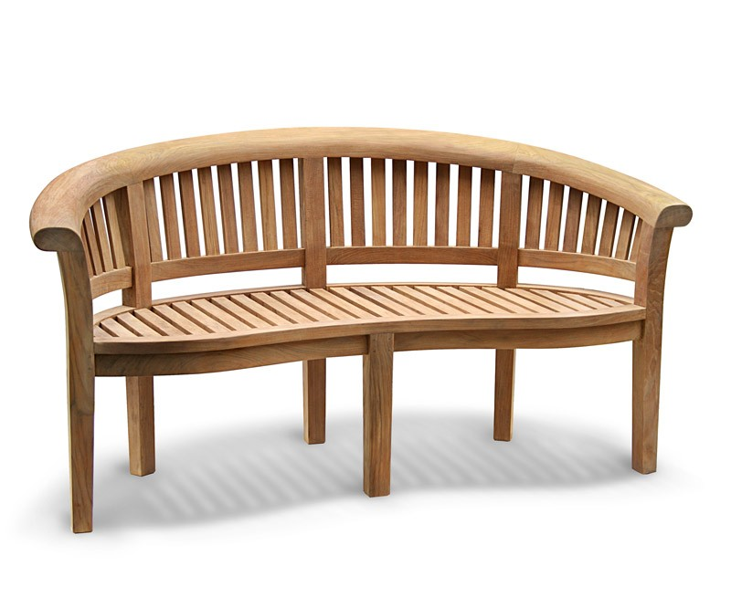 teak furniture is kiln-dried