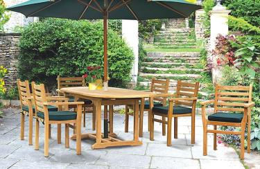 Teak Garden Table and Chair Sets